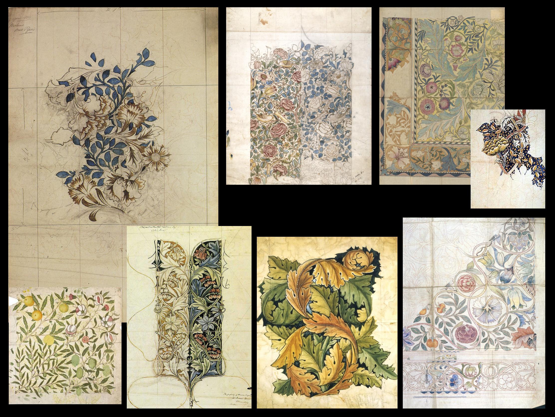 William Morris Drawings