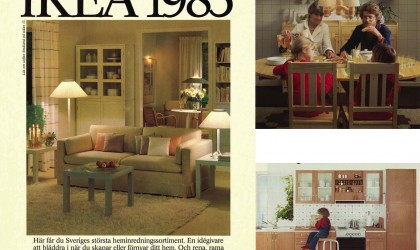 1980s Ikea catalogue
