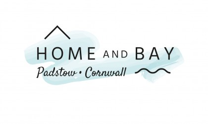 Home and Bay Padstow logo design