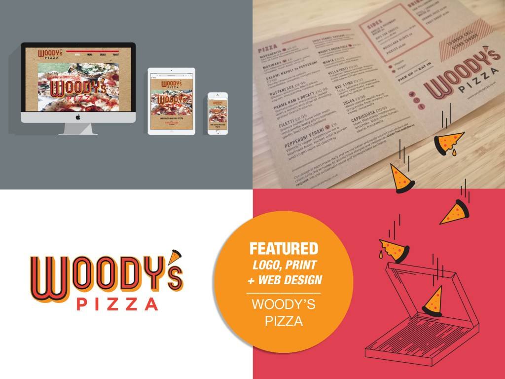 Design for Woody's Pizza