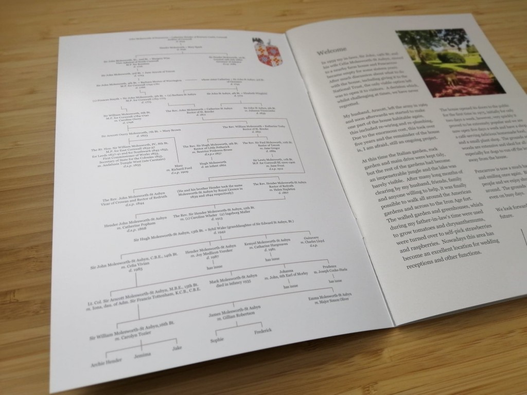 Guide Book Design and Print