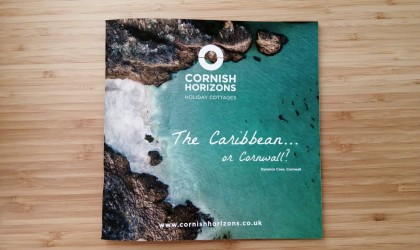 The front cover to the new Cornish Horizons brochure