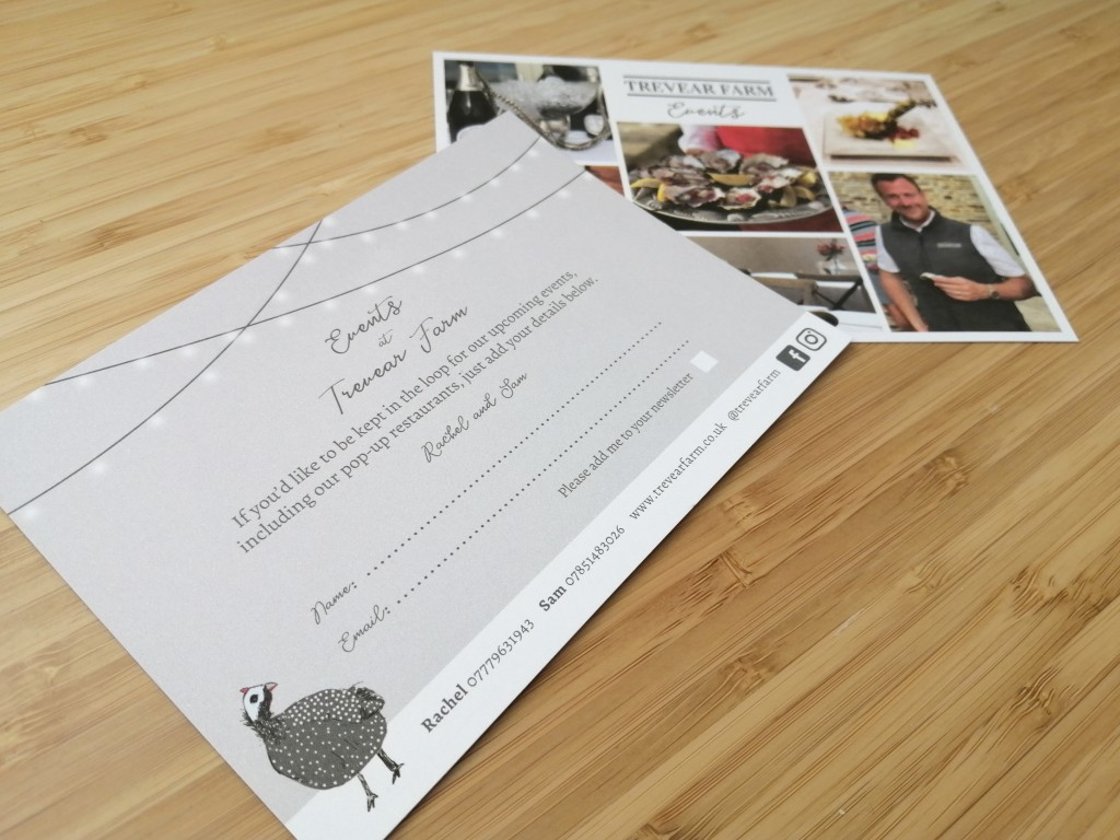 A6 Events Flyer Design and Print
