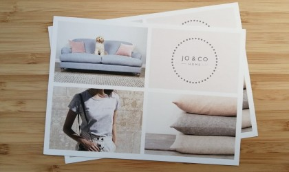 Jo & Co Home A6 mailers