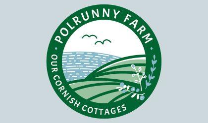 Logo design for Polrunny Farm Holiday Cottages