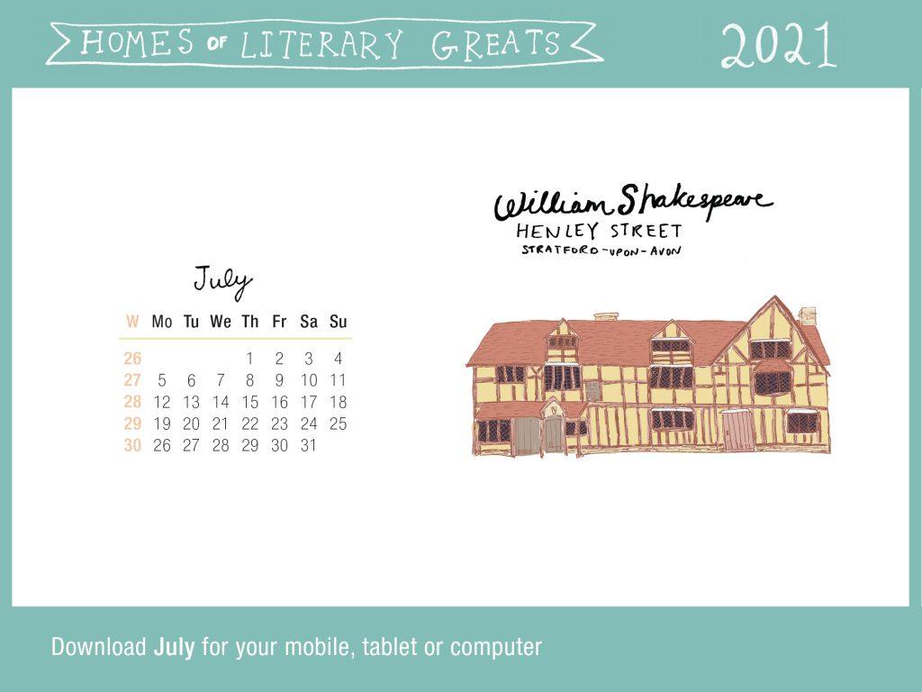 July-Calendar-Website-Slider-Image-William-Shakespeare