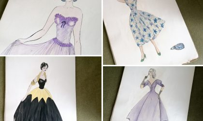1050s clothing designs discovered